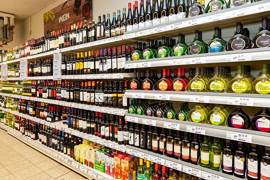 Frankenwein bei nahkauf Schelter